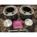 Kit cylinders/pistons/piston nut/rings Ural 650