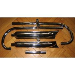 Ауспуси М72/К750 хром